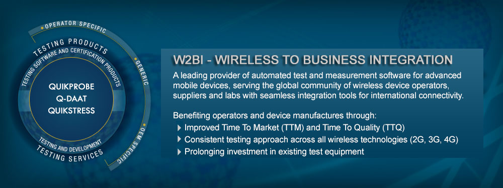W2BI Wireless Integration